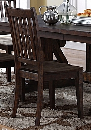 SAN JUAN DINING CHAIR- DISTRESSED ESPRESSO