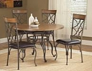 SIERRA METAL WOOD DINETTE TABLE TOP