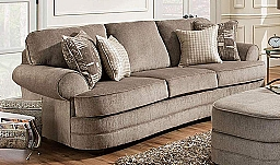 SOFA- KINGSLEY PEWTER/STARLIGHT PEWTER- BEAUTYREST COLLECTION