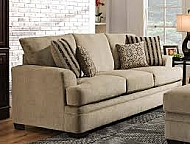 SOFA WITH LOUNGER- CORNELL PEWTER