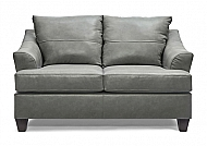 SOFT TOUCH SILVER LOVESEAT