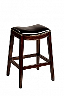 Sorella Non-Swivel Backless Counter Stool - Full KD Construction