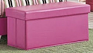 STORAGE BENCH PINK SAVANNAH