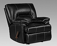 TAOS BLACK ROCKER RECLINER 40X41X40