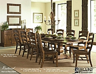 TRESTLE TABLE AND 10 CHAIRS YOUR CHOICE