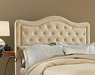 Trieste Fabric HB-Queen-Rails not included