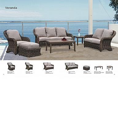 Veranda Wicker Sofa And 2 Swivel Gliders With Cushions Jocky Red 3 Year Warranty Table Set Extra
