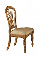 WILSHIRE ANTIQUE PINE SIDE CHAIR - SET OF 2