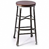 WOOLRICH BACKLESS COUNTER STOOL